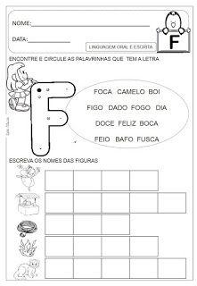 Atividades de A á Z Dani Educar Kids Education, Kindergarten, Ads, Activities, Learning, Link, Amanda, Spanish, Language Activities