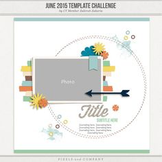 Topic: JUNE Template Challenge! | Pixels & Company