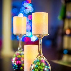 taças de decoração
