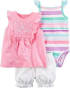 Quiltex Girls Toddler Unicorn Dreams 2 Pc Cardigan and Dress Set