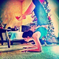 Christmas yoga :)