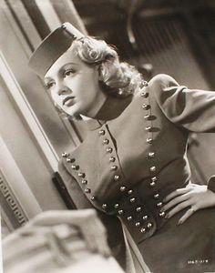 "Incredible costume. Lana Turner in ""Ziegfeld Girl"", 1941. I love Lana Turner!"