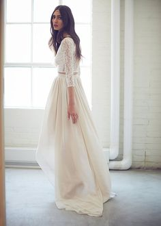 16 Stunning Bridal Separates that'll Change What you Think about Wedding Dresses