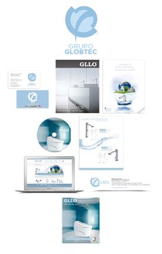 #logo #identity #branding #blanconegro #gllo #grupoglobtec