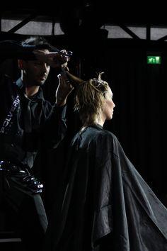 Taglio Capelli Con  Tecnica Scultura Rappresentata da Polverini Parrucchieri Firenze