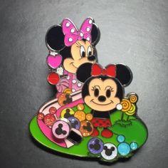 Hong Kong Disneyland Disney Hkdl Trading Pin Sweet Jelly Series Minnie 107363
