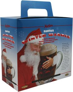 Santa's Winter Warmer, Muntons beer kit. A strong mellow ale balanced with choice aromatic and bittering hops. Released each year for the Christmas season, the ever popular winter brew is certainly worth the wait. In stock now.
