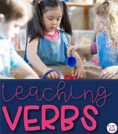 Teaching verbs throu