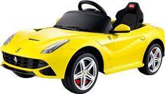 Vroom Rider VR81900-YEL Ferrari F12 Rastar 12V - Battery Operated/Remote Controlled (Yellow)