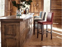 Comfortable and stylish the Brianne bar stool comes in bright colors with nailhead trim and espresso brown finish on the legs and stretchers. Select the perfect color to set up your bar decor. Bar Decor, Bar Table, Bistro Table, Furniture, Mattress Furniture, Home Furniture, Bars For Home, Teal Bar Stools, Home Decor
