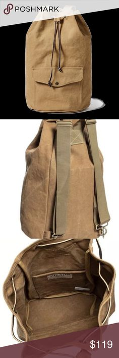 2ae7447a02c744 FILSON Washed Canvas Pack Backpack Tan NEW Brand NEW  230 Retail Filson  Washed Canvas Pack is