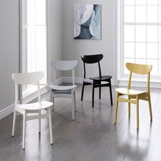 Classic Café Dining Chair - Lacquer Wood WestElm $149