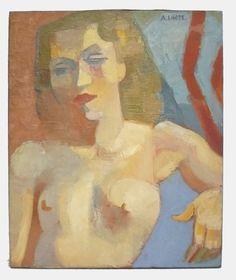 various colors 8512c fc431 André LHOTE - Cubist female bust, Oil on canvas