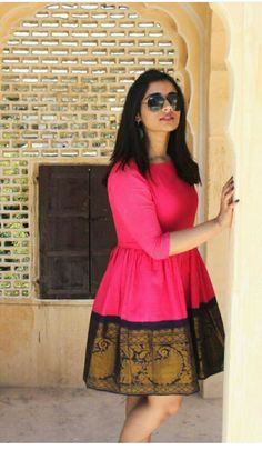 She is Pretty.... - Latest Kurti Design  IMAGES, GIF, ANIMATED GIF, WALLPAPER, STICKER FOR WHATSAPP & FACEBOOK