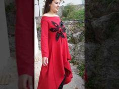 Crvena haljina One Shoulder, Formal Dresses, Fashion, Dresses For Formal, Moda, Formal Gowns, Fashion Styles, Formal Dress, Gowns