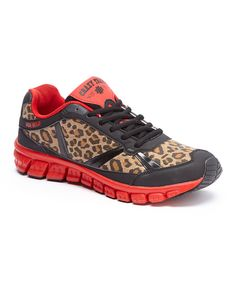 Look at this Crazy Train Red Run Wild Athletic Sneaker on #zulily today!