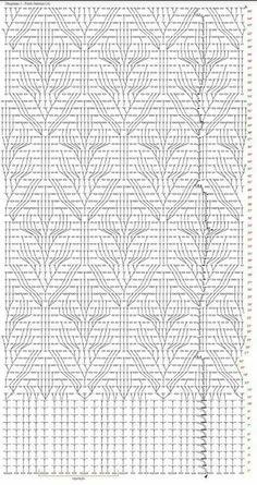 Crochet Quilt Pattern, Crochet Yoke, Crochet Diagram, Crochet Blouse, Crochet Stitches, Quilt Patterns, Knitting Patterns, Crochet Patterns, My Picot