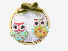 Tambour, Diy Kits, Elsa, Baby Shoes, Creations, Mini, Circles, Owls, Sewing