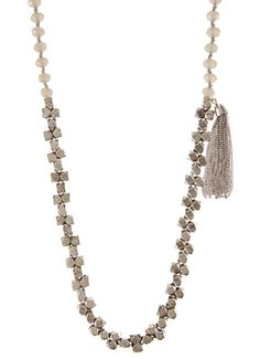 Grey & Antique Silver Mixed Bead Necklace , £35 Antique Silver, Beaded Necklace, Beads, Antiques, Diamond, Grey, Stuff To Buy, Amp, Jewelry