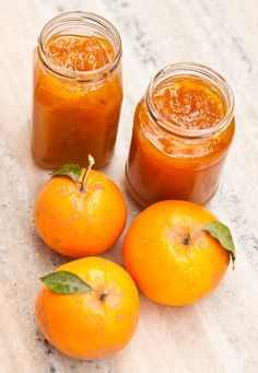 Recipe follows...: Kinnow Marmalade Citrus Recipes, New Recipes, Favorite Recipes, Yummy Treats, Yummy Food, Sweet Treats, Pots, Fruit Preserves, Jam And Jelly