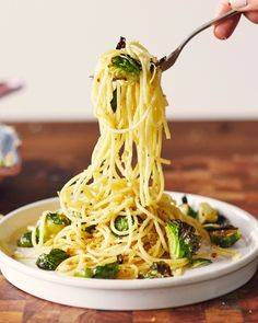Recipe: Lemony Brussels Sprouts & Breadcrumb Spaghetti — The Post-Thanksgiving Refrigerator