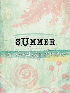 End Of Summer - Freebie In The Pocket Design