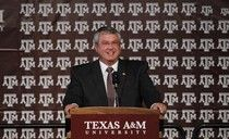 """It was déjà vu, all over again, as Texas A athletics was once again blindsided this afternoon, by TAMU President R. Bowen Loftin's """"dropped"""" comment to a """"Dallas Morning News"""" reporter that Bill Byrne would not serve as Aggie Athletic director beyond the term of his current contract, which ends August 31, 2013. #examinercom"""