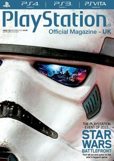 Official PlayStation Magazine 116.  The PlayStation Event Of 2015.