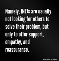 So true! INFJ