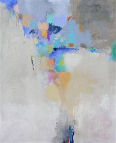 """Blue and Sentimental"", 50 x 40″, mm/c"