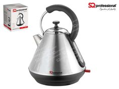 SQPro Legacy Electric Kettle 1.8 L - Quartz Stainless Steel