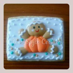 Gingerbread Cookie in Halloween