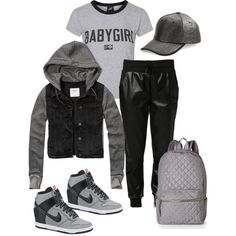 Tom Boy by Deranged Diva. A fashion look from February 2015 featuring Illustrated People t-shirts, Abercrombie & Fitch jackets and adidas Originals activewear pants. Browse and shop rel…