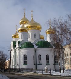 Храм преподобного Сергия Радонежского (Архиерейское подворье). Нижний Новгород.