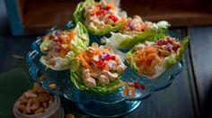 Thai Chicken Cups #DavidGillick #GoodFoodKarma #HealthyMidWeek #SuperValu #Recipe