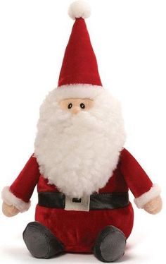 Here is Santa Gnome with his big bushy beard and his red outfit. Holiday Gift Guide, Holiday Gifts, Holiday Decor, Gnomes, Elf On The Shelf, Santa, Cute, Red, Xmas Gifts