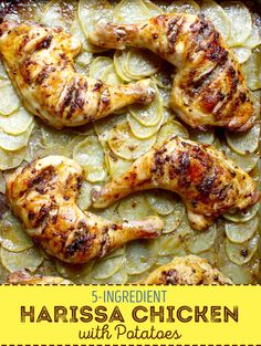 An easy chicken dinner recipe filled with delicious spices.