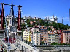 Lyon fourvière et quai de saône. @NeoZarrivants -- http://www.neozarrivants.com/lyon/