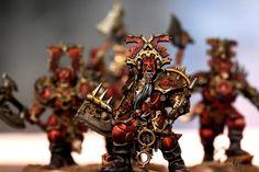 Age of Sigmar | Khorne Bloodbound | Bloodwarriors #warhammer #ageofsigmar #aos #sigmar #wh #whfb #gw #gamesworkshop #wellofeternity #miniatures #wargaming #hobby #fantasy