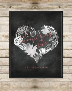Do Everything In Love 1 Corinthians 1614