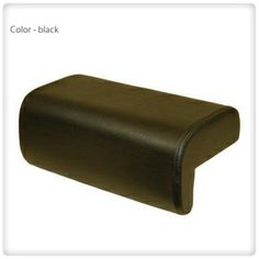 Leather square #footrest in different colors