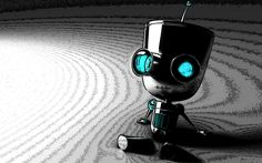 13990, free desktop wallpaper downloads robot