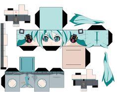 Resultado de imagen para papercraft anime