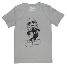 Disney - Star Wars T-shirt Mash-up - Imperial Mickey Men's / Unisex - pinned by pin4etsy.com