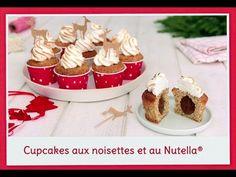 Cupcakes aux noisettes et cœur fondant au Nutella® - Nutella