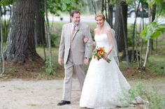 Real wedding, Real bride, ivory, Jacquelin, Christina Wu, Bridal gown, wedding gown, lace