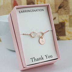 Personalized infinity bracelets - Earrings Nation