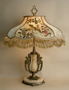 What a beautiful lamp.
