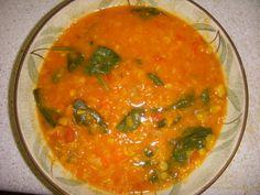 Red Lentil, Carrot & Coconut Soup