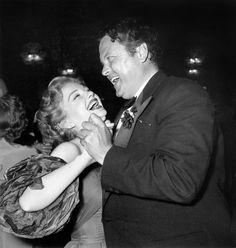 CANNES FILM FESTIVAL - rson Welles & Anne Baxter - 1953 - Vogue magazine.